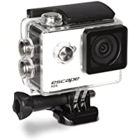 Kitvision Escape HD5 720p HD Waterproof Action Camera/Action Cam with Mounting Accessories, 30 fps/5 MP, HD Video with Single Shot, Timed, Burst and Time Lapse Photo Modes, Waterproof Up to 30 m