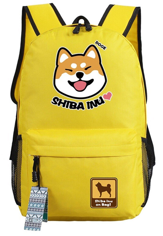 YOYOSHome Anime Doge漫画コスプレBOOK BAGバックパックスクールバッグ   B01FA005HC