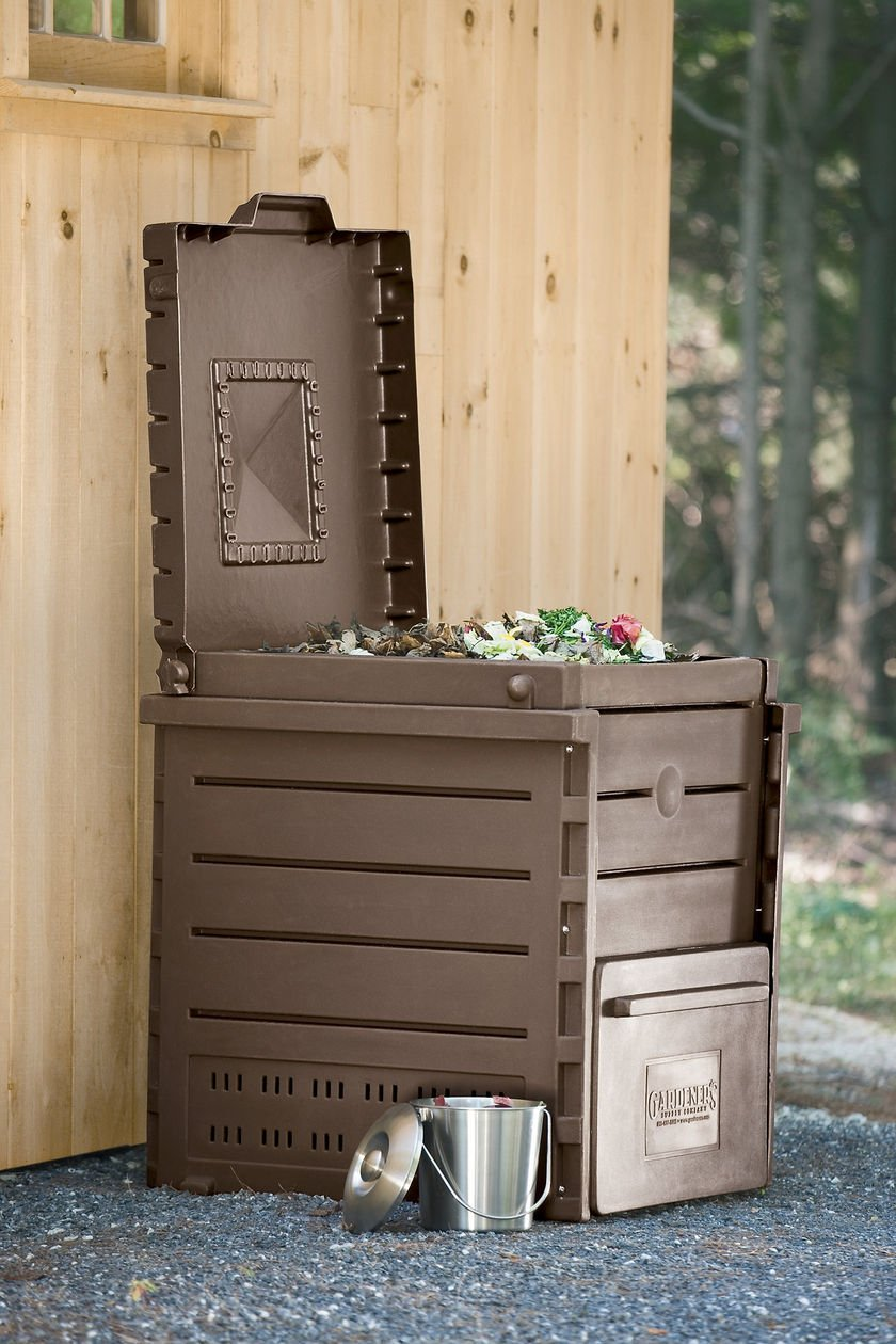 Deluxe Pyramid Composter, Recycled Plastic Composter by Gardener's Supply Company (Image #4)