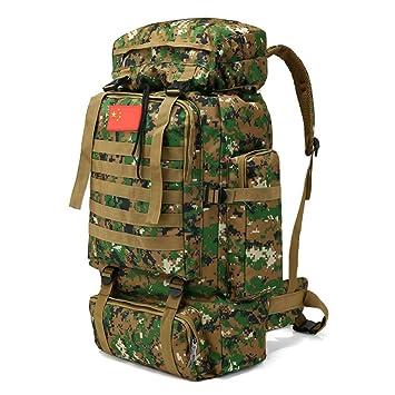 70L Molle Camo Mochila táctica Militar ejército Impermeable Camping Senderismo Mochila de Viaje al Aire Libre Deportes Escalada Bolsa: Amazon.es: Deportes y ...