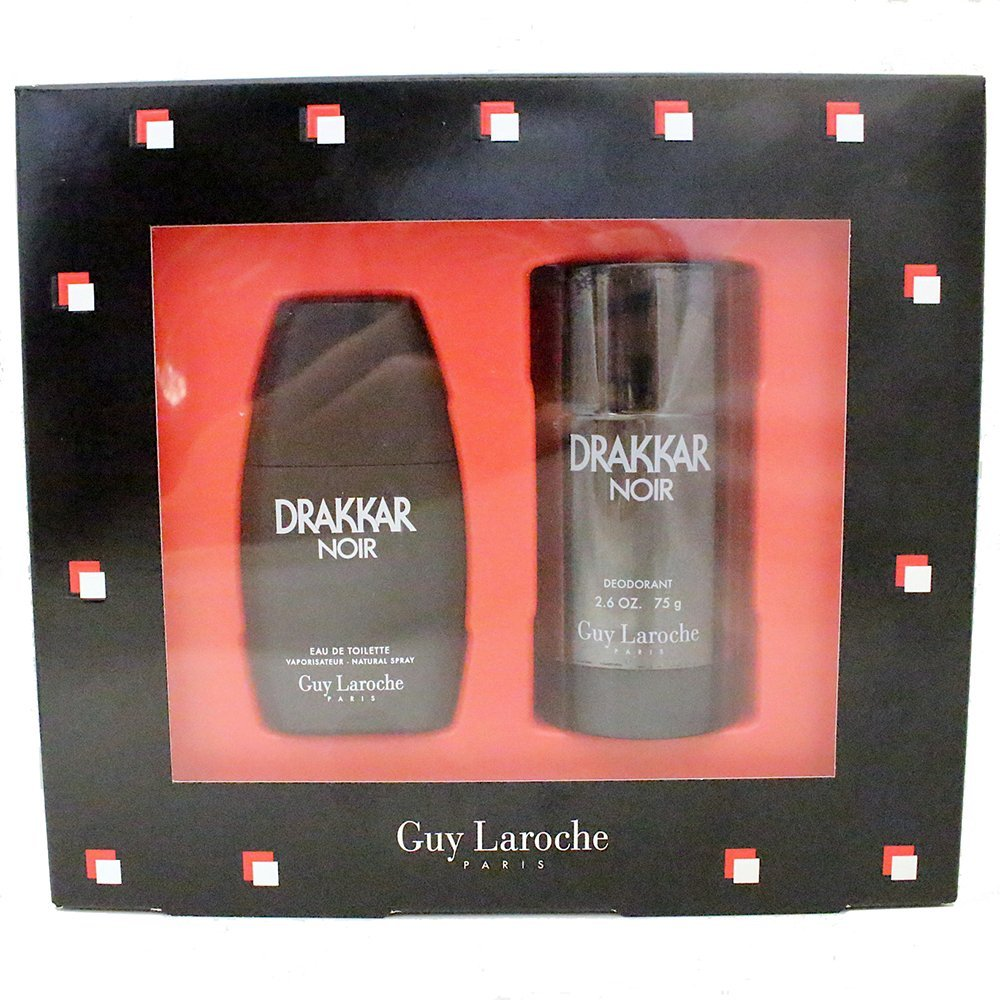 Drakkar Noir by Guy Laroche for Men Gift Set, 2 Piece by Guy Laroche