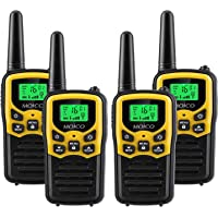 Walkie Talkies Long Range for Adults Two-Way Radios Up to 5 Miles in Open Fields 22 Channels FRS/GMRS VOX Scan LCD…