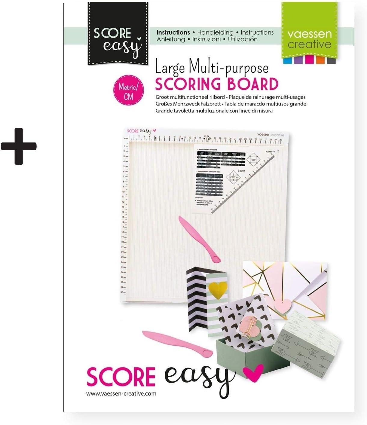 Amazon.com: Vaessen Creative 2137-047 Easy Scoring Board cm ...