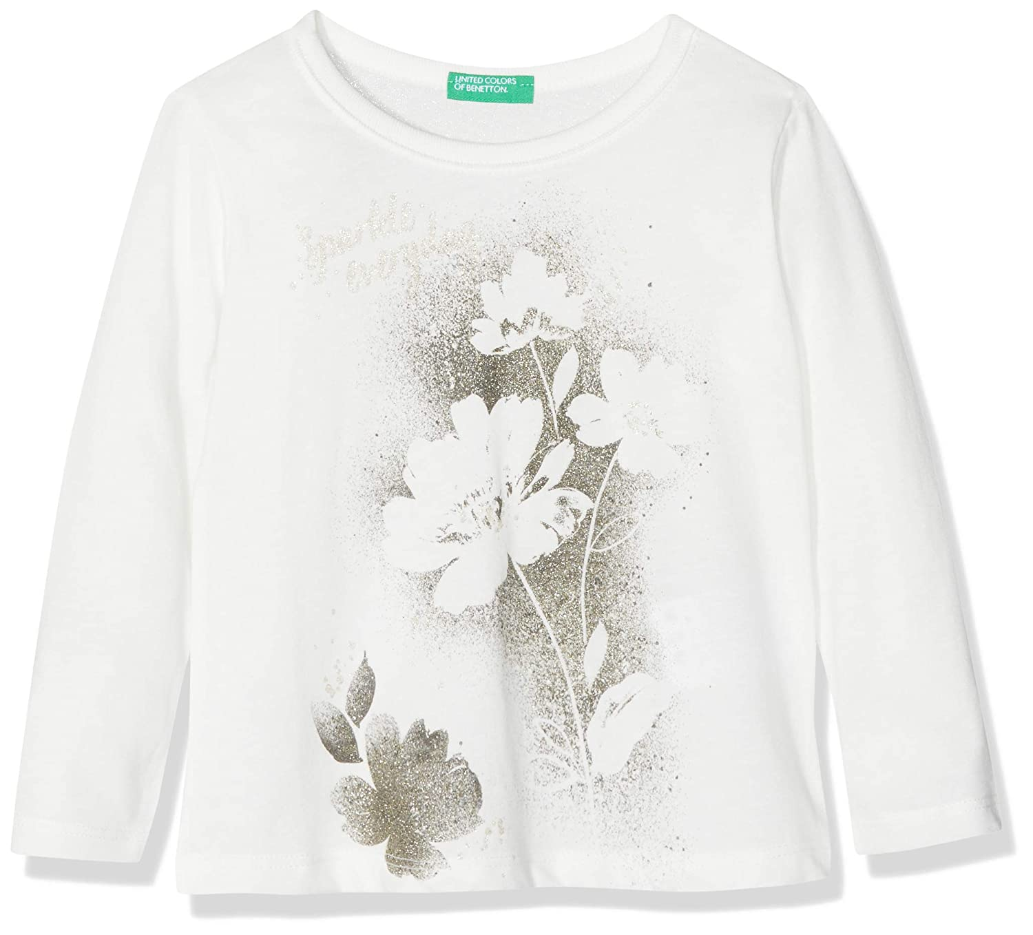 United Colors of Benetton T-Shirt L/S, Bambina 3VR5C13Z3