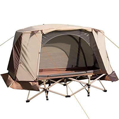 REDCAMP Tent Cots for Camping 1 Person, Waterproof Ultralight Backpacking Tent 3 Season for Outdoor Hiking Mountaineering Travel: Clothing