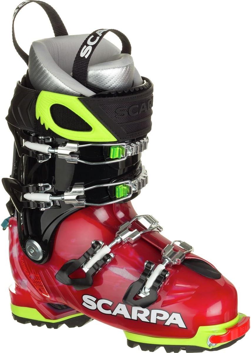 Scarpa Freedom SL 120 Boot – Women 's スカーレット/ホワイト
