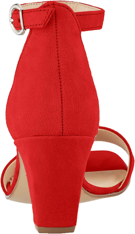 Gabor Damen Fashion Riemchensandalen Rot Rubin 15