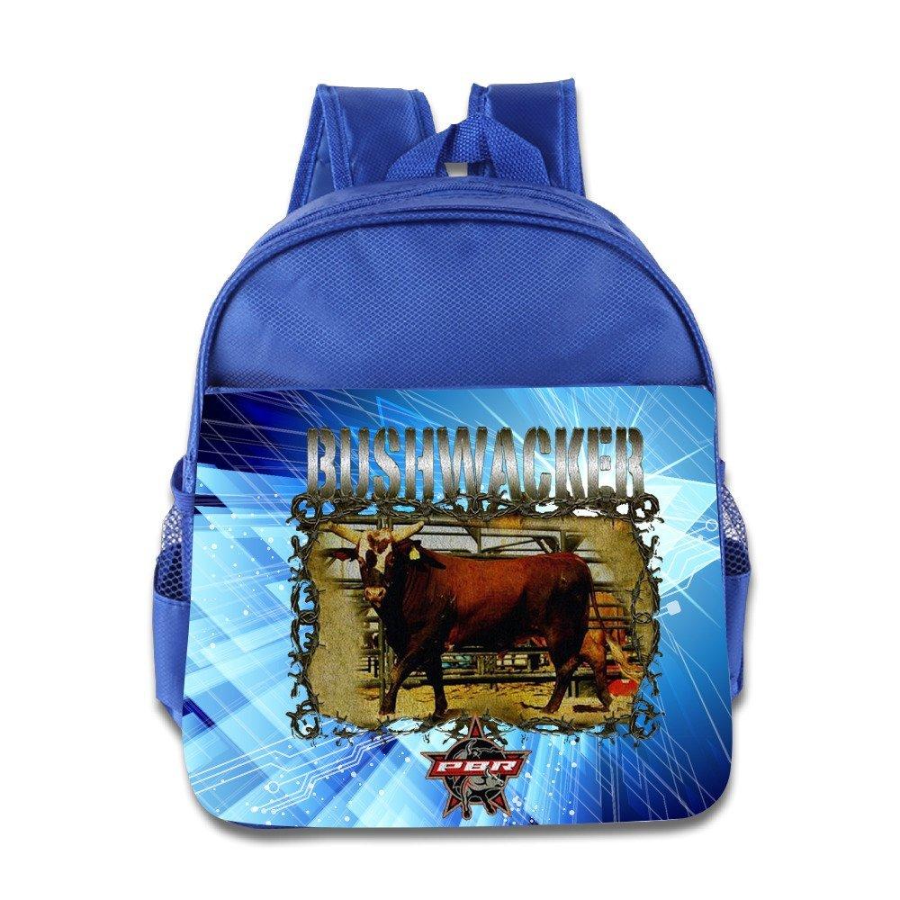 PBRプロフェッショナルBull Riders Bushwacker Cow Boy Kidsスクールバックパックバッグ One Size ロイヤルブルー B01FUE5QI6