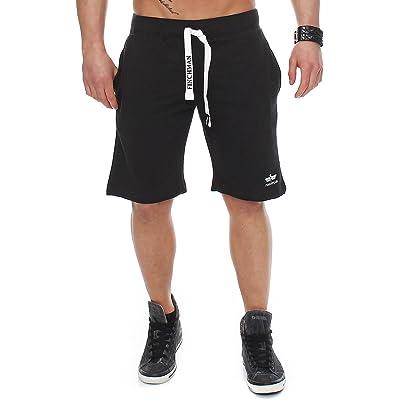 Finchman Pantalones Cortos Deportivos de algodón para Hombres Bermuda Sweatpant