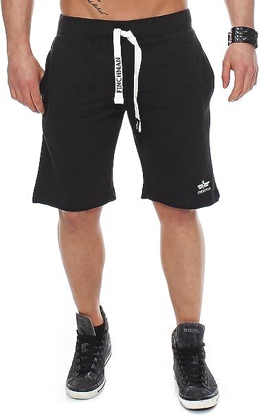 Finchman Pantalones Cortos Deportivos de algodón para Hombres ...