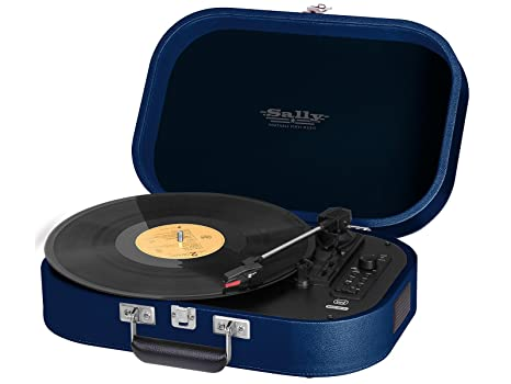 Trevi TT 1020 BT Azul - Tocadiscos (Azul, 33,45,78 RPM ...