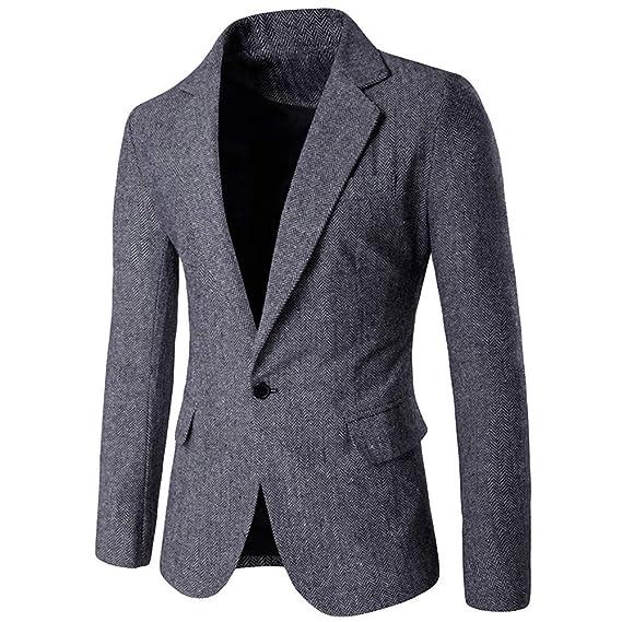 STRIR Chaqueta De Traje De Moda Slim Fit De Blazer Tweed ...