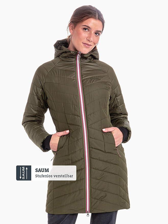 Schöffel Thermo Coat Orleans Women wattierter Damen Mantel