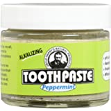 Uncle Harry's Fluoride Free Toothpaste - Peppermint (3 oz glass jar) …