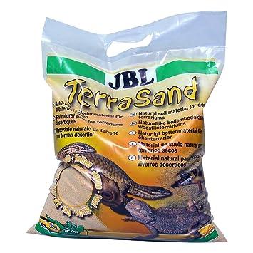 JBL 710180 Terrasand Sustrato para Terrarios Desérticos, Amarillo, 7.5 kg: Amazon.es: Productos para mascotas