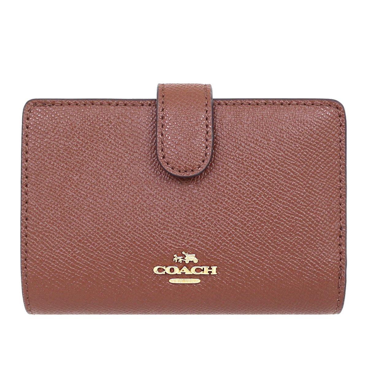 [コーチ] COACH 財布 (二つ折り財布) F11484 レザー 二つ折り財布 レディース [アウトレット品] [並行輸入品] B079VCLH5Q サドル2 サドル2