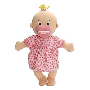 """Manhattan Toy Wee Baby Stella Peach 12"""" Soft Baby Doll"""