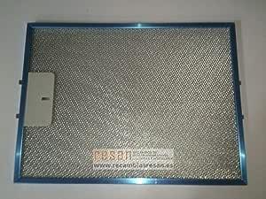 PANDO - Filtro metalico campana Pando V226-1 329x247 mm.: Amazon.es: Bricolaje y herramientas