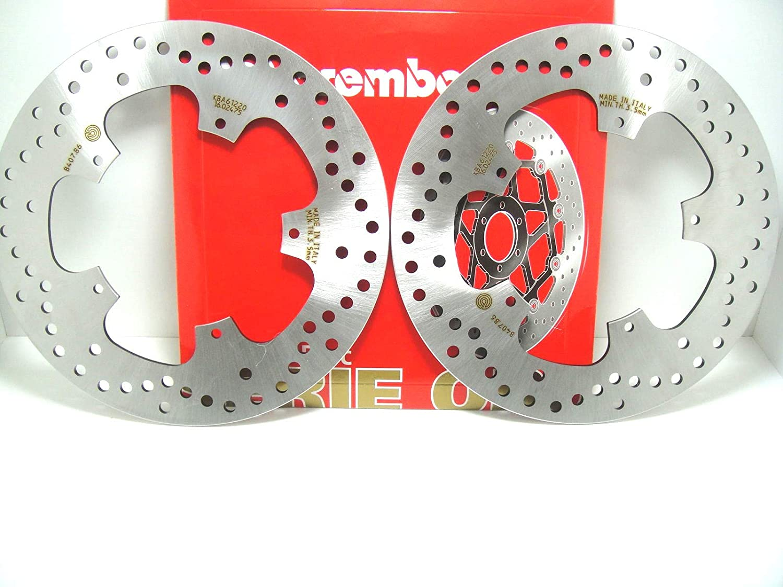 2 DISCHI FRENO BREMBO ANTERIORE NEXUS 500 2004  2011 NEXUS ie SP 500 2006  2008