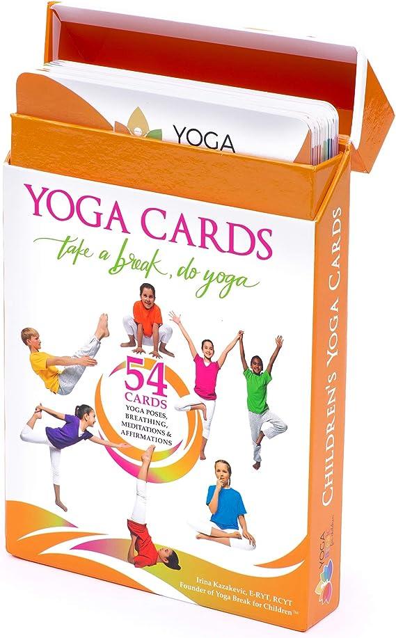Dot That Pose Yoga Cards Gifts for Yogis Yoga Kids Card Yoga Lover Kids Yoga Tree Pose
