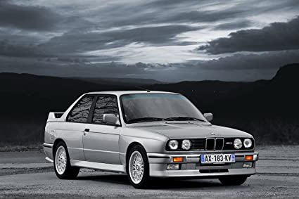 Amazon Com Bmw M3 Evolution I E30 1987 Car Print On 10 Mil