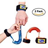 Amazon Price History for:HIG Anti Lost Wrist Link for Child & Babies Toddler Safety, Harnesses & Leashes Walking Hand Belt Straps (4.9ft Orange + 8.2ft Blue)