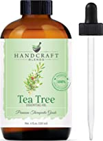 Handcraft Tea Tree Essential Oil - 100% Pure and Natural -
