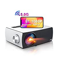 Deals on ARTlii Portable 5G WiFi Bluetooth Projector