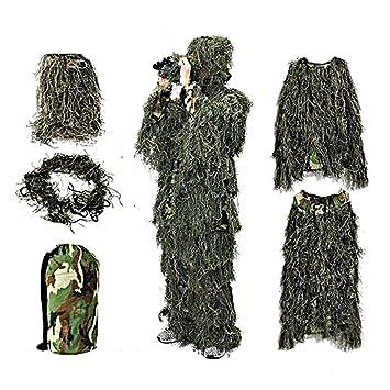 Traje de Caza, Ropa Geely Uniforme de Camuflaje, niños Militares, Camuflaje, sombrilla, Traje de Caza, Ropa con Bolsas de Embalaje: Amazon.es: Hogar