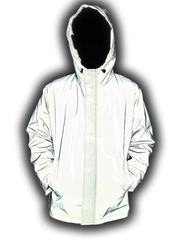 LANSHULAN Men\'s 3M Scotchlite Series Reflective High Visibility Jacket