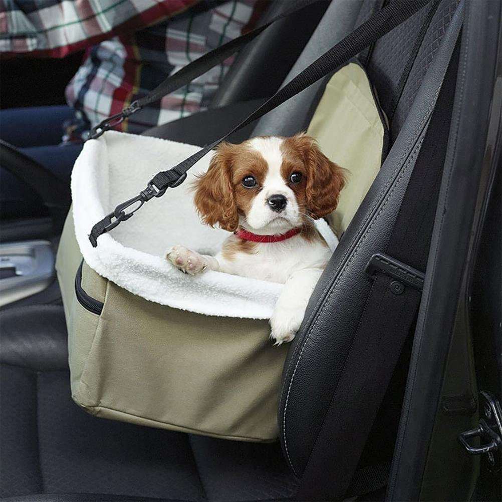 Portable Puppy Dog//Cat Carry Car Booster Seat Pet Snoozer Hammock Safety Basket