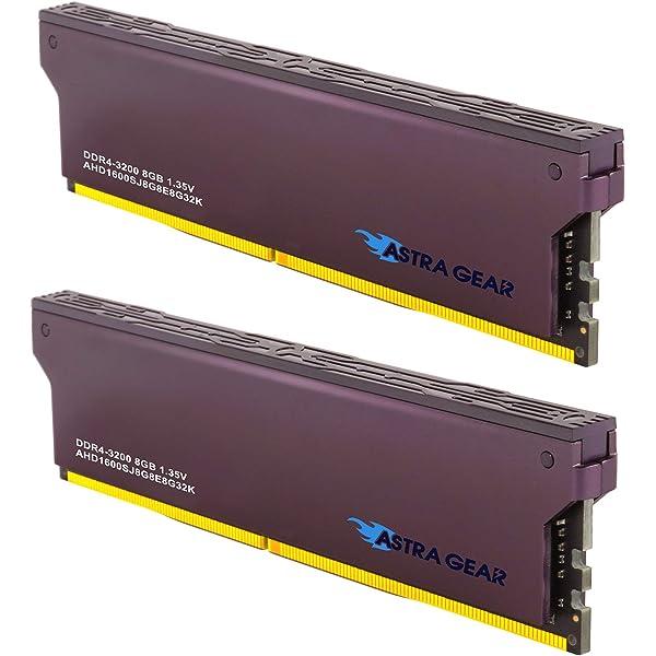 2 x 8GB DDR4 3200MHz AHD1600SJ8G8E8G32K ASTRA GEAR 16GB PC4-25600 Desktop Memory Module Ram Upgrade Gaming U-DIMM