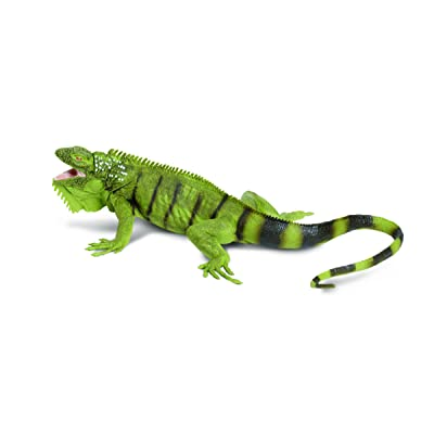 Safari Ltd Incredible Creatures Iguana: Toys & Games