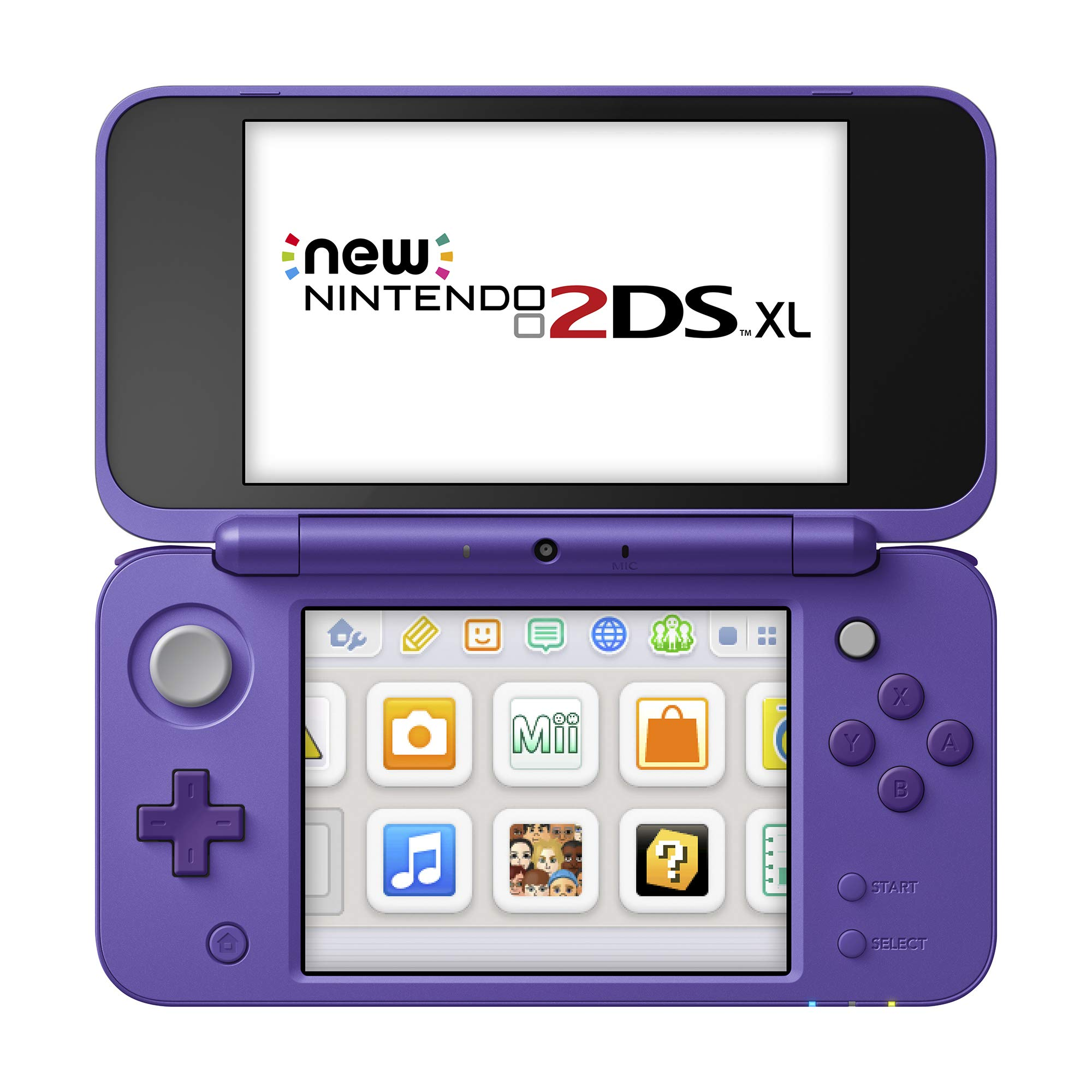 New Nintendo 2DS XL - Purple + Silver With Mario Kart 7 Pre-installed - Nintendo 2DS by Nintendo (Image #3)