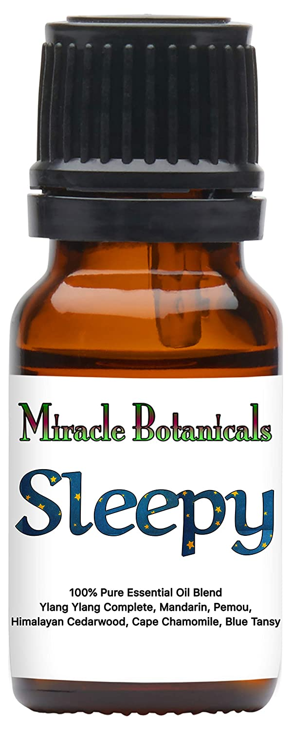 Miracle Botanicals Sleepy Essential Oil Blend - 100% Pure Therapeutic Grade Essential Oils - 10ml