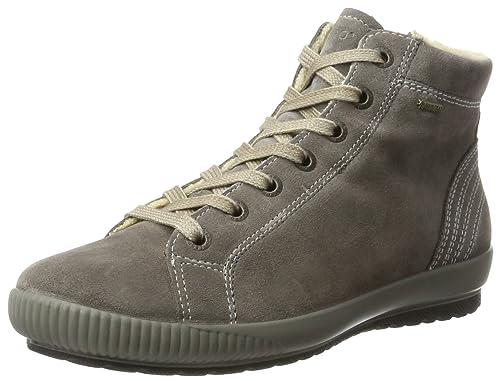 LegeroMira - Zapatillas Altas Mujer, Color Gris (Ematite), 38.5 EU