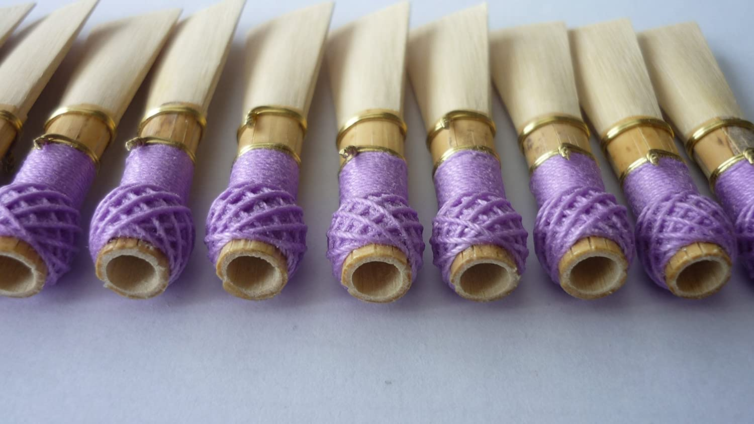 10 Bassoon Reed Blanks from Rieger canes /dukov_reeds RrF2/