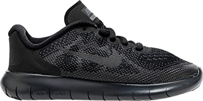 sale retailer e8c6b 4801b Nike Boy's Free RN 2017 Running Shoe (PS) Black/Anthracite-Dark Grey-Cool  Grey 3Y