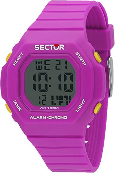 SECTOR Reloj Hombre de Digital con Correa en Silicona R3251599005
