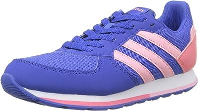 Adidas 8K K, Zapatillas de Deporte Unisex niño, Azul (Azalre/Rossua/Rostiz 000), 38 EU: Amazon.es: Zapatos y complementos