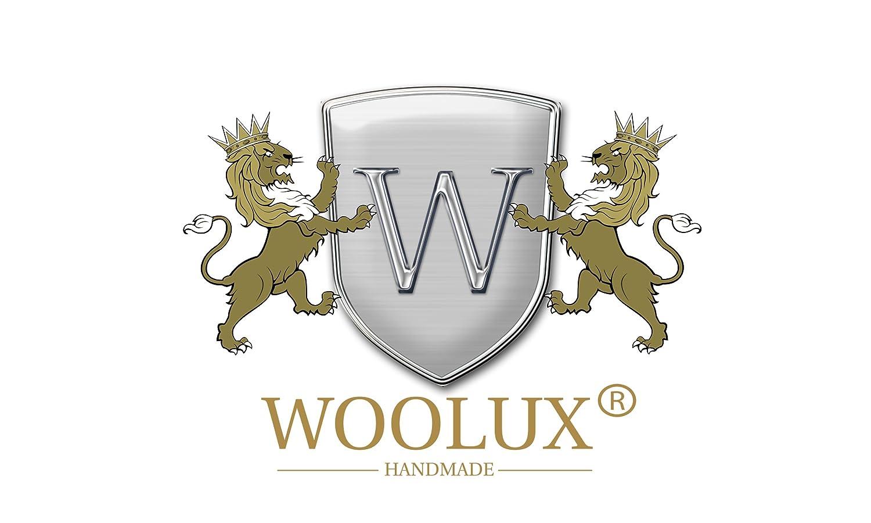 Edle Uhrenbox Cherry Kirsche von Woolux fÜr 5 Uhren aus Holz Uhrenschatulle mit Echtglas
