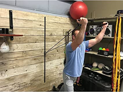 Amazon.com : space saver gym resistance training tool wall mount