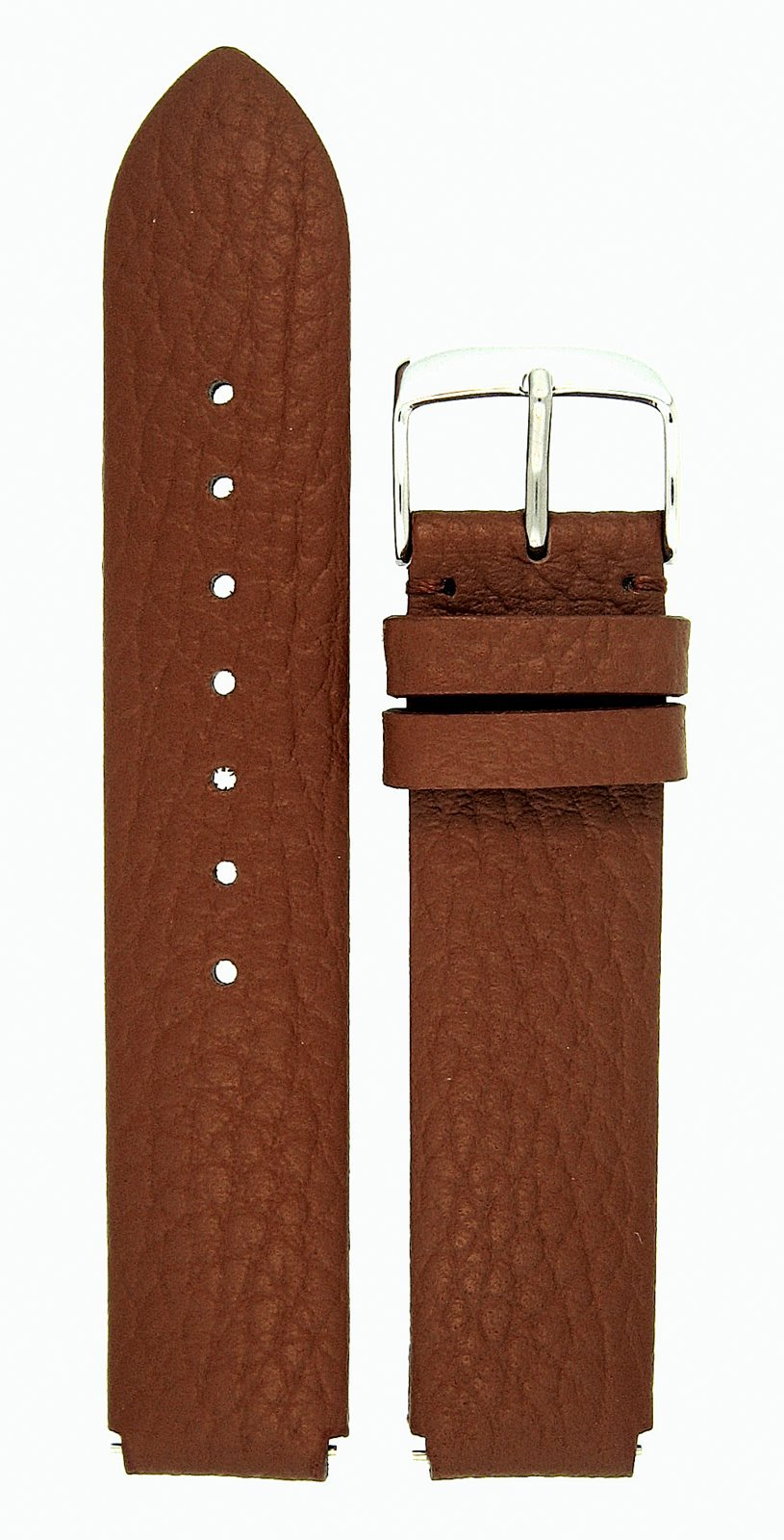 Leather Watchband Fits Philip Stein Large Size 2, 20mmLight Cocoa With Spring Bars - by JP Leatherworks