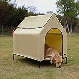 AmazonBasics Elevated Portable Pet House