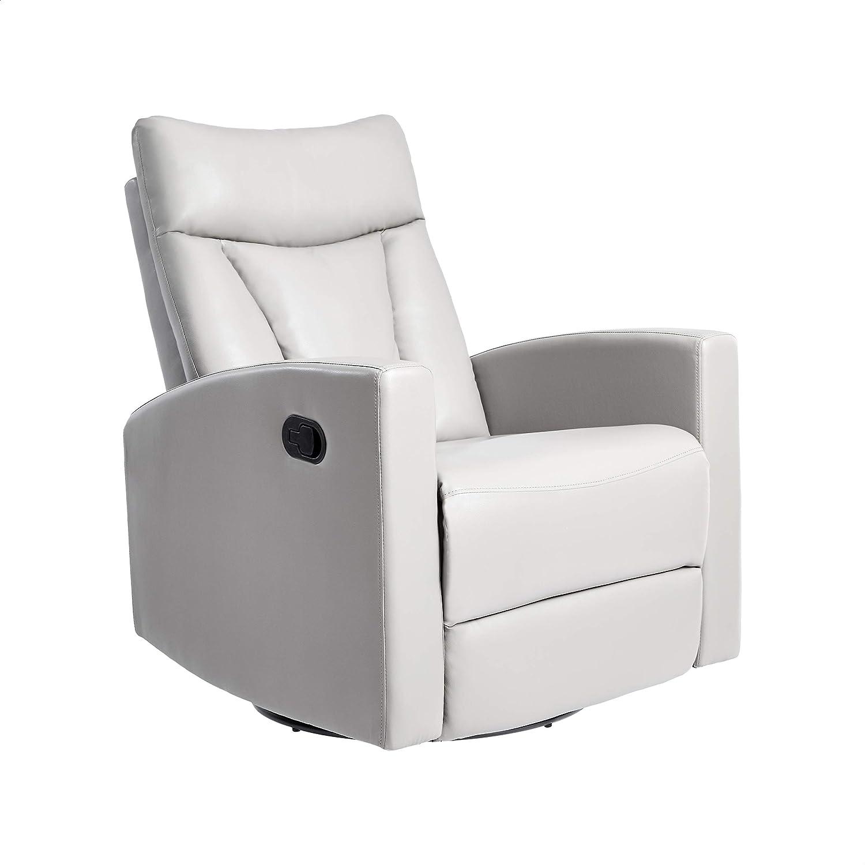 JC Home Swivel&Glider recliner, one size, Grey