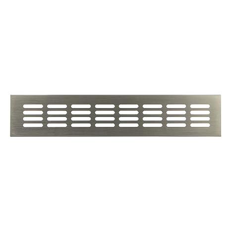 Haeusler-Shop - Rejilla de ventilación para puerta (acero ...