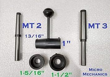 "Lathe Tailstock Die Holder Set Floating Type MT2 SHANK 13//16/"" 1/"",1-5//16/"",1-1//2/"""