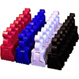 The Amazing Sock Clip, Original Assorted 32 Clips, (8 Each of 4 Colors) Made In U.S.A.