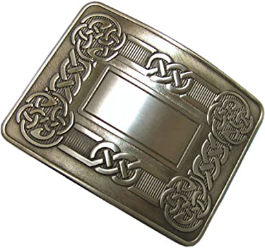 Men's Swirl Celtic Knot Kilt Belt Buckle Antique//Highland Kilt Celtic Buckles