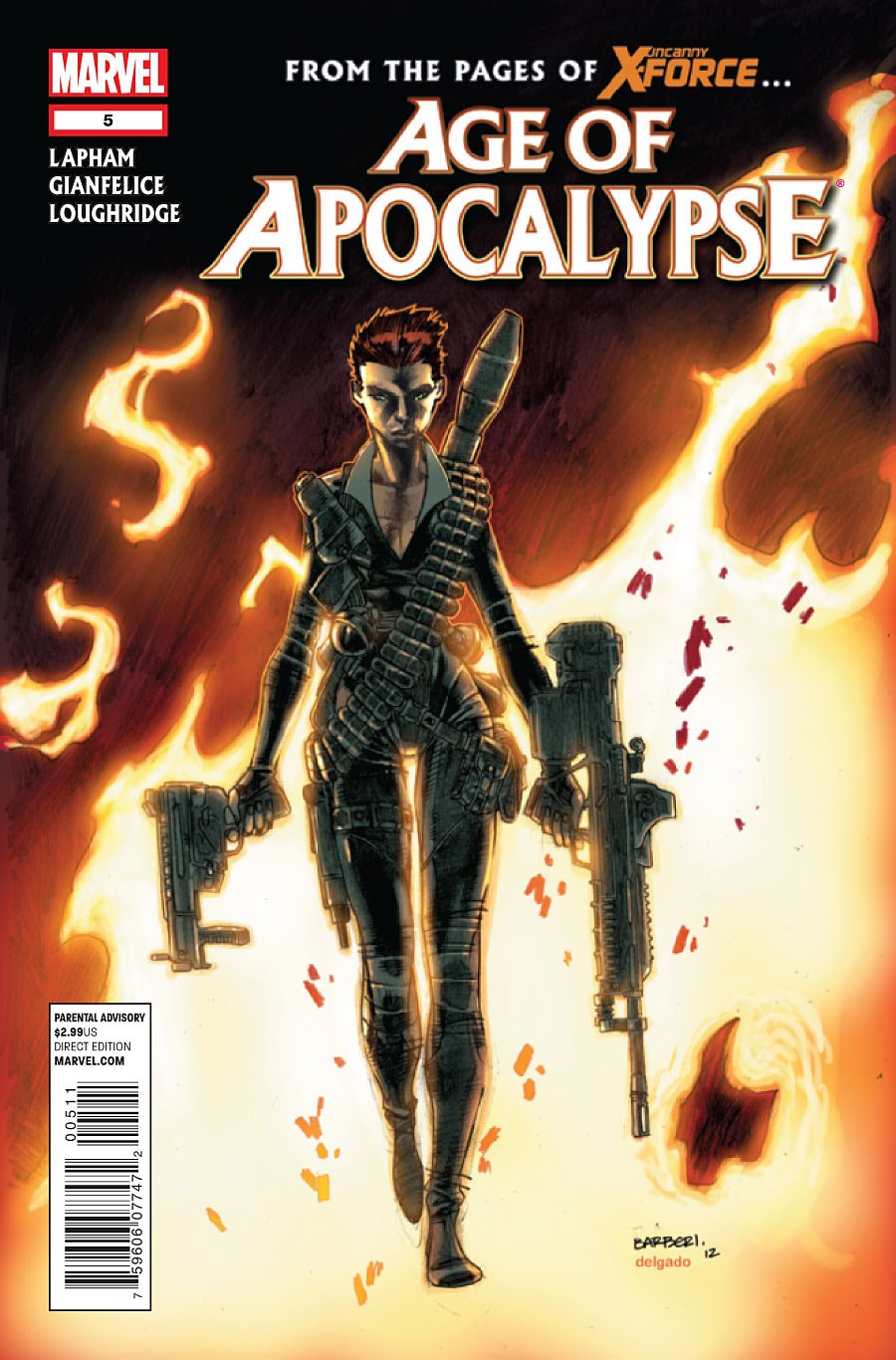 """Read Online Age of Apocalypse #5 """"Jean Grey Goes on Her First Mission with the X-terminated. Will She Survive It?"""" ebook"""